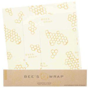 Bee's Wrap Duurzaam Huishoudfolie - Combi Pakket