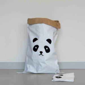 opbergzak panda voor het opbergen van speelgoed