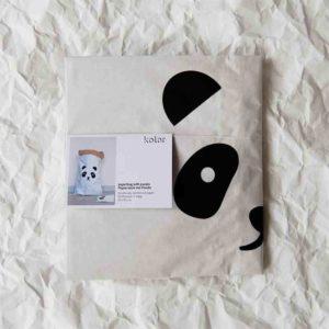 stevige papieren opbergzak - met panda opdruk