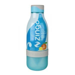 Zingo Blue | Blauw - waterflesje met citruspers