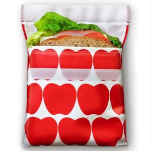 LunchSkin Sandwich Bag - de herbruikbare vervanger van het plastic broodzakje
