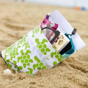 Lunchskin Sandwich Bag Green Turtle - de herbruikbare vervanger van het plastic zakje