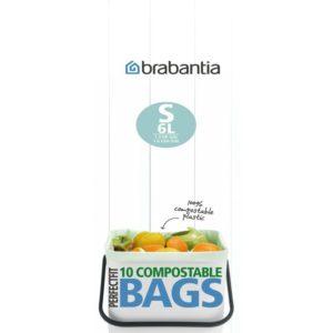Brabantia Model S composteerbare afvalzak