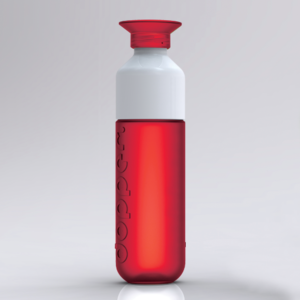 dopper waterfles rood