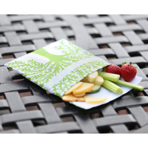 lunchskin sandwich bag - green tree